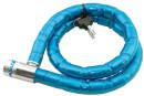 Sturdy Bike Coil Lock Blue