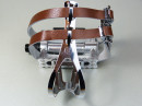 Bicycle pedals loops / straps aluminum with double...