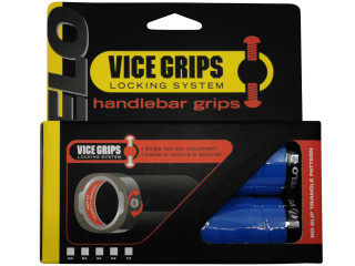 Taped Bicycle Grips Blue