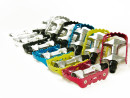 Anodized Aluminum Bicycle Pedals