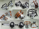 Retro Bicycle Pedals with