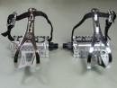 Retro Fahrrad Pedale mit Pedalhaken