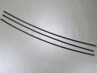 Fahrrad Bremshülle Außenhülle Alhonga 5 mm x 4 Meter 2P Teflon weiß