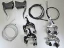 Rennrad Bremsen Set Bremshebel und Seitenzugbremse mit...