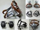 Schlichte Retro Fahrrad Pedale mit Pedalhaken für...