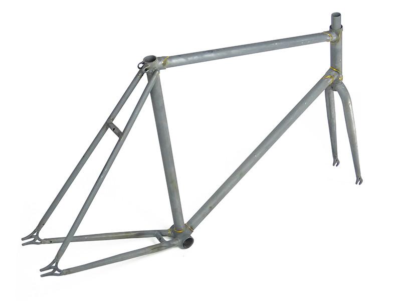 Single Speed Rahmen mit Gabel unlackiert Stahl, 107,70 €