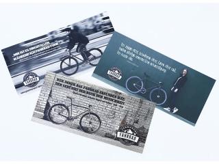 Permanent-Fahrrad stickers 9,5cm²