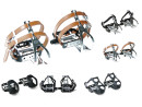 Racebike Wellgo Bicycle Pedals with Pedal Hooks