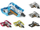 Aluminum Bicycle Pedals with Reflectors