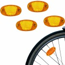 4 Reflectors for Pedals