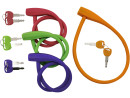 Silicone Cable Lock Flexible Bicycle Lock with Keys...